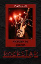 Rockstar | Victoria De Angelis《Maneskin》 by wolfmendes