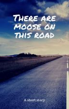 There are moose on this road by TengRong