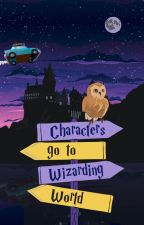 Characters Go To Wizarding World by kpop