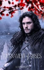 a tournament of roses, jon snow by scoobysnacs