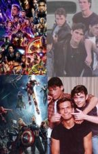 Marvel x outsiders  by hahzhxbdbekskdh