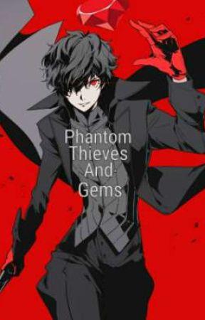Phantom Thieves And Gems by Shadowrider1032