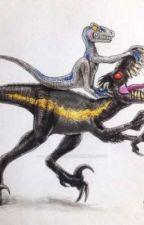 new kingdom (Indoraptor x Blue) by grim-idiot