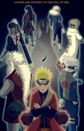 Naruto of the senju clan by iryoku_reaper