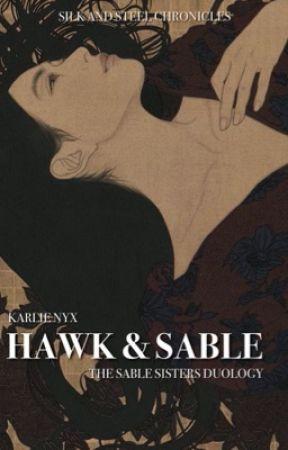 hawk & sable by nyxiekitsune