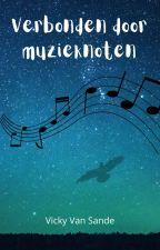Verbonden door muzieknoten door vicksterlovesbooks