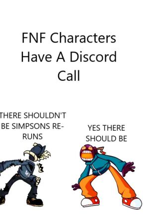 FNF Characters Have A Discord Call by Starecrown