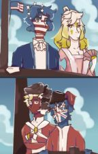 Soft blue skies (countryhumans revolutionary war) by frogthemangoguardian