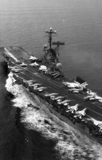 USS Oriskany's New Journey by LeeroyTheRossiya