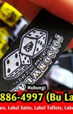 PROFESIONAL 087838864997 (B. Latifiyah) Label Hang Tag Gantungan by labelbanjarmasin86