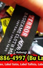 AMANAH 087838864997 (B. Latifiyah) Label Hang Tag Hijab by labelbanjarmasin86