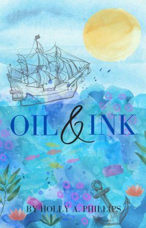 Oil & Ink by thebitterlemon