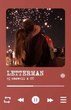 Letterman // EJ Caswell x OC by cruelladevil11
