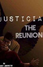 Justicia: The Reunion (Destiel Superhero Au) by SuperWolf_Winchester