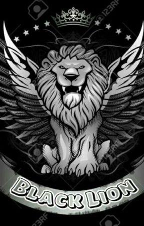 -Black Lion Ꮠ by Gstikhoirunissa_