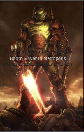 Doom Slayer In Metropolis by CarnageInkling24