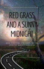 Red Grass and a Sunny Midnight by AbhinavHegde14