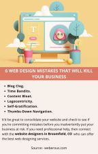 6 WEB DESIGN MISTAKES THAT WILL KILL YOUR BUSINESS by josephdennyy01