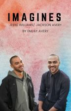 IMAGINES | Jackson Avery & Jesse Williams by emjayavery