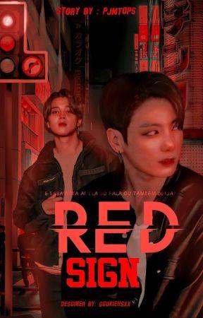 red sign • pjm + jjk • by pjmtops