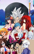 Goku traído por seus amigos e Harem. by Gustavo123589