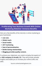 Proliferating Your Business Growth With Online Marketing by josephdennyy01