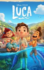 Pixar Luca (Alberto x Asri) by tmntwolfgirl86