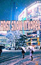First Snow In Korea by urerah