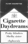 CIGARETTE DAYDREAMS    peaky blinders. cover