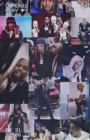 Rapper imagines  by Kingvonsbabymuva