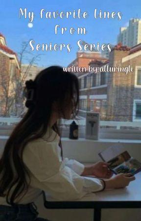 Seniors Series || alluringli by sunooflirts