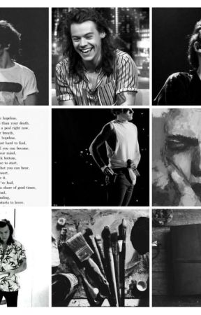 The Painted Poet (A Larry stylinson AU) by All-i-Need-Is-MeBoys