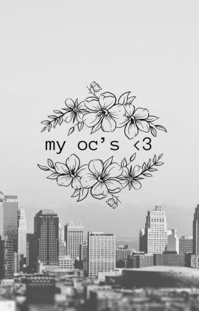 My OC's by VexDizznee