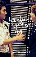 WonKyu Twitter AU by wonkyulovers