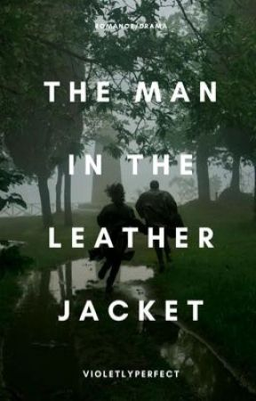 The Man In The Leather Jacket by VioletlyPerfect