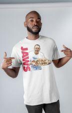 Joey Jaws Chestnut Hot Dog Eating Food T-Shirt by TsivoTsivo