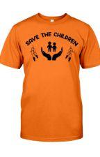 Save The Children Orange T-Shirt by TsivoTsivo