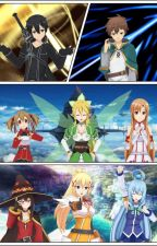 A World with No More Pain!! (Male Reader X Anime MMORPG Harem) by JackDroid