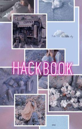 Hack book (๑•́ ₃ •̀๑) by -B4BYBE4R