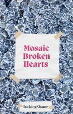Mosaic Broken Hearts by duckingshame