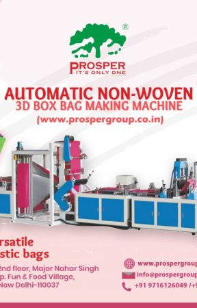 One stop solution for paper bag and non woven bag MACHINERY by prospermedia