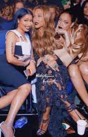 3Throuple: (Beyonce, Nicki, Rihanna) by pinkbutterflyva2