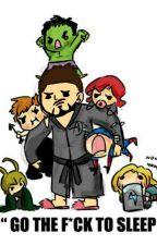 Eh si Tony Stark devenais Baby-sitter ? par JLGaaby