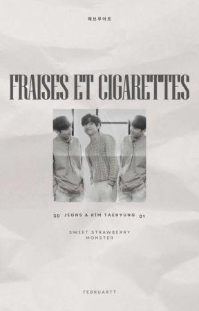 fraises et cigarettes   kooktaegguk  by februartt