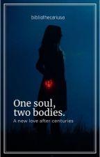 One soul, two bodies   Wanda Maximoff by bibliothecariusa