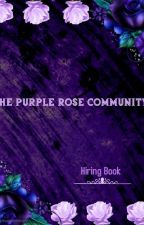 The Purple Rose Community 💜Guide and Hiring  by PurpleRoseCommunity