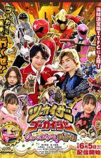 Bnha x Gokaiger Male Reader x Kamen Rider by Luxisbest