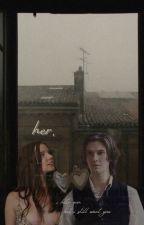 ℍ𝔼ℝ. // BEN BARNES AU x FEM OC (anya taylor-joy fc) by mossykneesocks