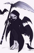 Reaper sans in creepypastas world by KarmaAkabane425