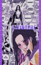 Tsundere || Boa Hancock X Fem Reader by xxTodoroki-Kunxx